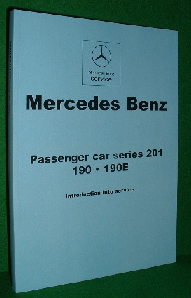 Image for MERCEDES BENZ [ Service Manual ] PASSENGER CAR SERIES 210 190.190E Introduction into Service. [ English Text ]