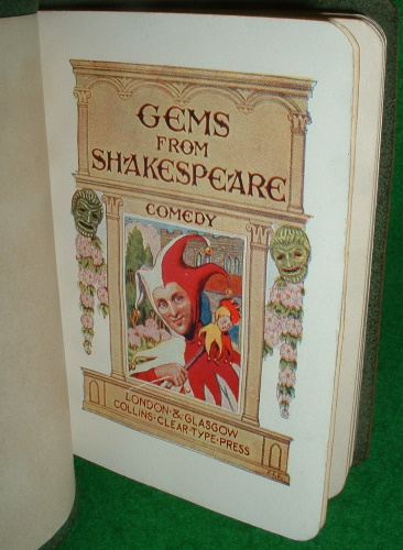 Image for GEMS FROM SHAKESPEARE COMEDY