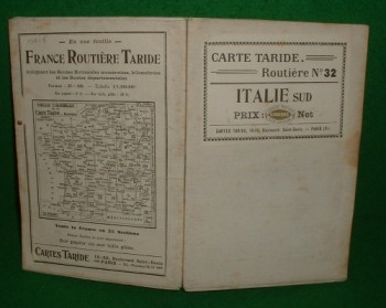 Image for ITALIE Sud CARTE TARIDE ROUTIERE No 32 [ Linen Map ]