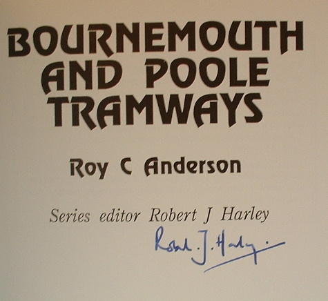 Image for BOURNEMOUTH AND POOLE TRAMWAYS