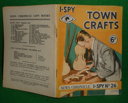 Image for I SPY TOWN CRAFTS No 26