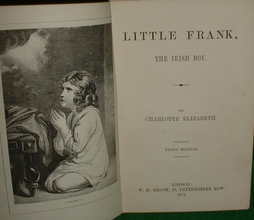 Image for LITTLE FRANK THE IRISH BOY
