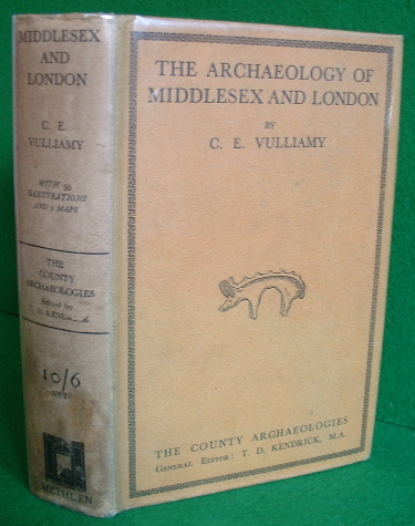 Image for THE ARCHAEOLOGY OF MIDDLESEX AND LONDON