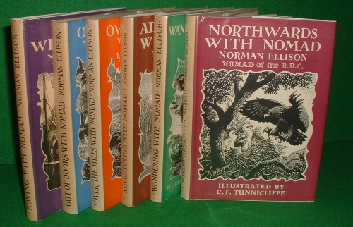Image for WANDERING WITH NOMAD; OUT OF DOORS WITH NOMAD; OVER THE HILLS WITH NOMAD; ROVING WITH NOMAD;  ADVENTURING WITH NOMAD;  NORTHWARDS WITH NOMAD; (THE SIX NOMAD BOOKS-signed by author)