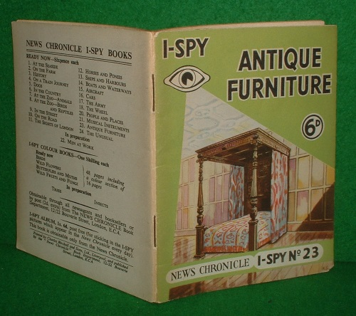 Image for I SPY ANTIQUE FURNITURE No 23