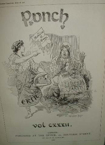 Image for PUNCH or the London Charivari VOLUME CXXX11 [ Vol 132 ] Punch Annual 1907