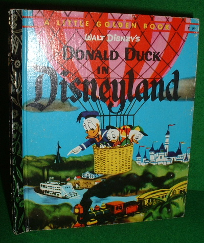 Image for WALT DISNEY'S DONALD DUCK IN DISNEYLAND Golden Book Series
