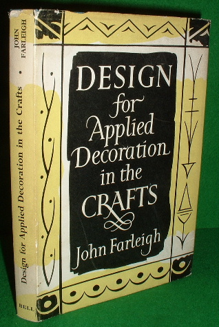 Image for DESIGN for APPLIED DECORATION in the CRAFTS
