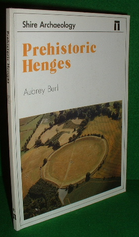 Image for PREHISTORIC HENGES SHIRE ARCHAEOLOGY SERIES NO 66