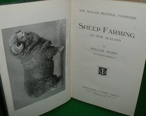 Image for SHEEP FARMING in NEW ZEALAND New Zealand Practical Handbooks