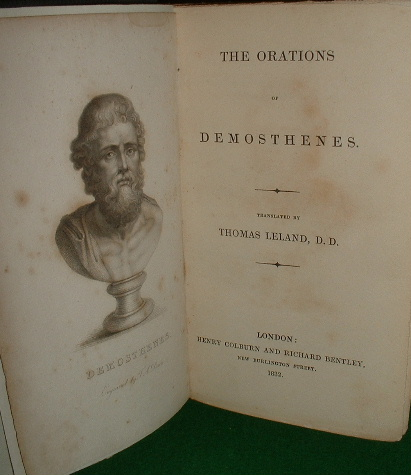 Image for THE ORATIONS OF DEMOSTHENES