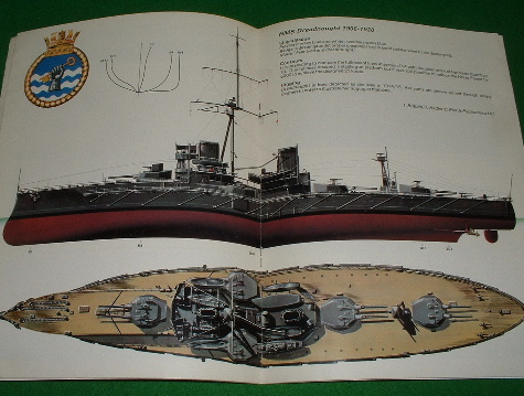 Image for WARSHIP 1 , HMS DREADNOUGHT Battleship 1906 - 1920 , Profile magazine