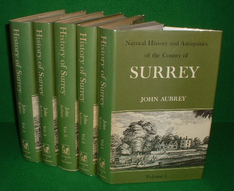 Image for The Natural History and Antiquities of the County of Surrey  , 5 vol set Facsmile