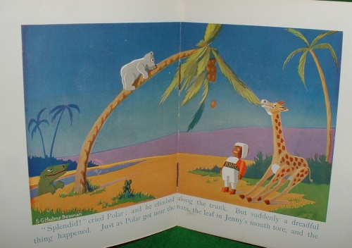 Image for JENNY THE GIRAFFE Out of the Ark series
