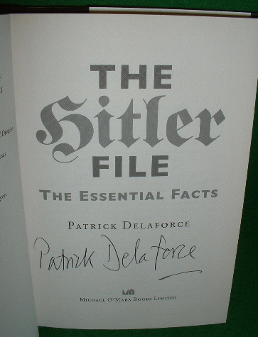 Image for THE HITLER FILE  The Essential Facts