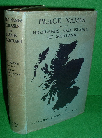 Image for Place Names: Highlands and Islands of Scotland