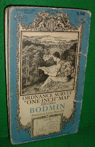Image for Ordnance Survey one-inch map, fifth edition, sheet 136, Bodmin.
