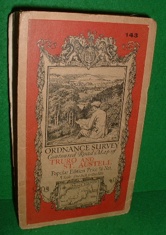 Image for ORDNANCE SURVEY CONTOURED ROAD MAP OF TRURO AND ST. AUSTELL POPULAR EDITION Sheet 143