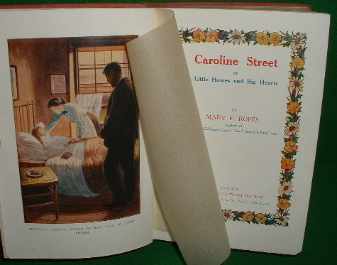 Image for CAROLINE STREET or Little Homes and Big Hearts