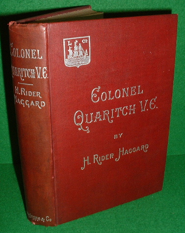 Image for COLONEL QUARITCH V.C. A Tale of Country Life