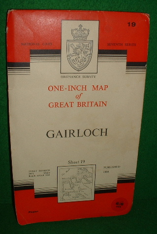 Image for ORDNANCE SURVEY ONE-INCH MAP OF GREAT BRITAIN GAIRLOCH SHEET 19