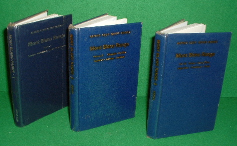 Image for ALPINE CLUB GUIDE BOOKS  Mont Blanc Range Volumes 3 Vols