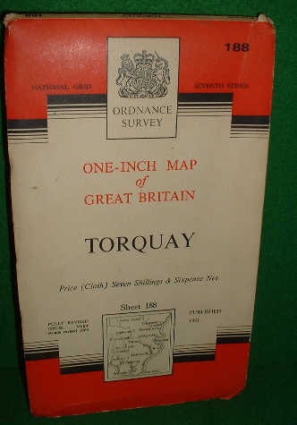 Image for Ordnance Survey One Inch Map of Great Britain Torquay