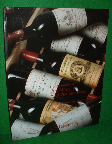 Image for CHRISTIE'S AUCTION CATALOGUE FINE WINE AND VINTAGE PORT