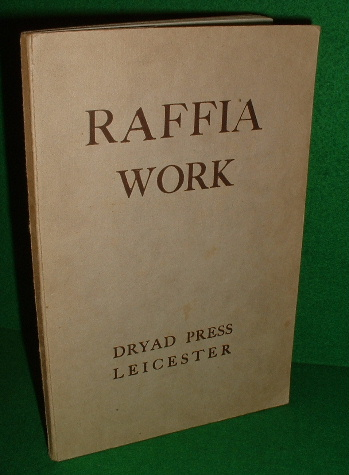Image for RAFFIA WORK