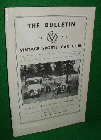 Image for THE BULLETIN OF THE VINTAGE SPORTS CAR CLUB No 53 Winter 1956-7