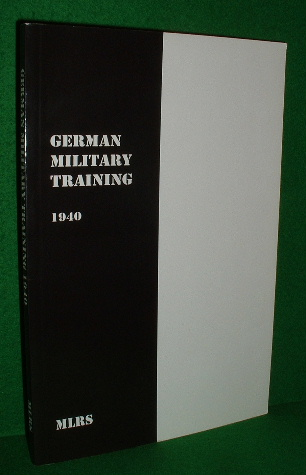 Image for GERMAN MILITARY TRAINING 1940