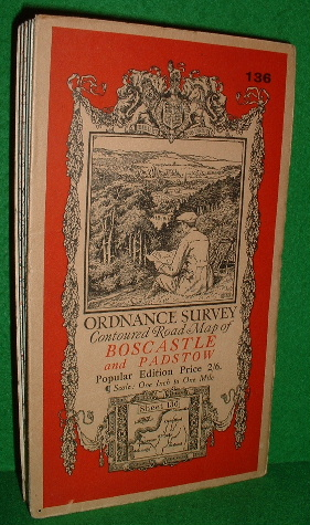 Image for ORDNANCE SURVEY CONTOURED ROAD MAP OF BOSCASTLE AND PADSTOW