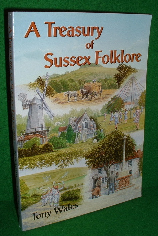 Image for A TREASURY OF SUSSEX FOLKLORE