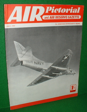Image for AIR PICTORIAL and Air Reserve Gazette , Vol XV11 no 7 , 1955 July , Magazine