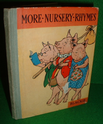Image for MORE NURSERY RHYMES , The Three Little Pigs , Simple Simon & The House That Jack Built illustrated by Artist Frank Adams