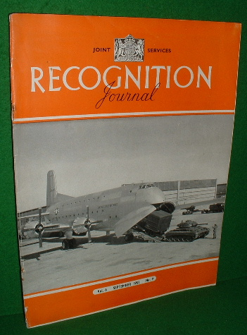 Image for RECOGNITION JOURNAL 1951 , SEPTEMBER , Vol 6, No 9 , Joint Services