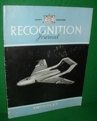 Image for RECOGNITION JOURNAL 1952 , January/February , Vol 7, No 1 , Joint Services