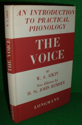 Image for THE VOICE An Introduction to Practical Phonology NEW Edition