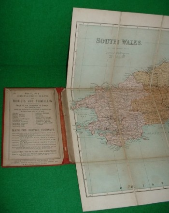 Image for PHILIPS' COUNTY MAPS OF ENGLAND & WALES REDUCED FROM THE ORDNANCE SURVEY SOUTH WALES