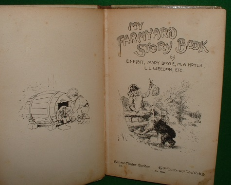 Image for MY FARMYARD STORY BOOK [ Ernest Nister no 2801 ]