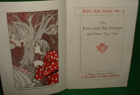 Image for THE FOX AND THE GRAPES AND OTHER TINY TALES