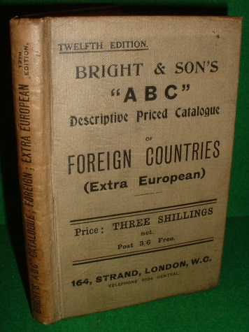 "Image for BRIGHT & SON'S ""ABC"" Descriptive Priced Catalogue of World's Postage Stamps Part III- Foreign Countries (Ex-European and Colonies)"