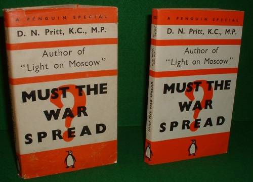 Image for MUST THE WAR SPREAD?