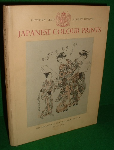 Image for JAPANESE COLOUR PRINTS , Victoria & Albert Museum No 8