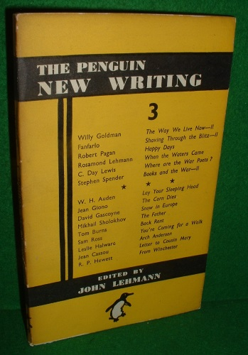 Image for THE PENGUIN NEW WRITING 3