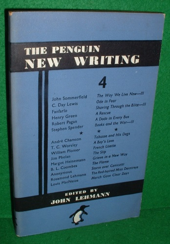 Image for THE PENGUIN NEW WRITING 4