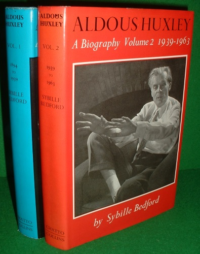 Image for ALDOUS HUXLEY A Biography 2 VOLUMES .Volume One 1894-1939 , Volume Two 1939-1963 [ 2 Vols Volume 1 & Volume 2 ]