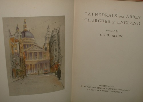 Image for CATHEDRALS AND ABBEY CHURCHES OF ENGLAND