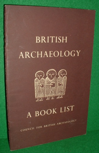 Image for BRITISH ARCHAEOLOGY A BOOK LIST