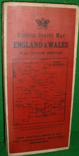 Image for REDUCED ORDNANCE SURVEY SCALE 2 MILES TO AN INCH WAR OFFICE SERIES LONDON DISTRICT S.W. SECTION
